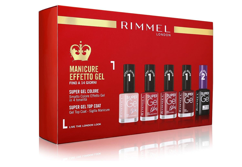 Rimmel Gift Box Super Gel Coty 34300187000