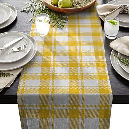 Amazon Com Artshowing Geometric Table Runner Party Supplies Fabric