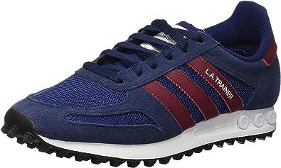 adidas La Trainer, Zapatillas de Gimnasia para Hombre, Azul (Collegiate Navy/Collegiate Burgundy/Dark Blue), 39 1/3 EU: Amazon.es: Zapatos y complementos