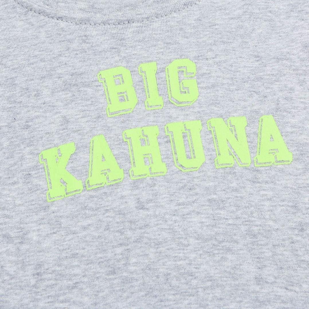 Kehen Infant Baby Boy 2pcs Summer Clothes Short Sleeve Letter Print T-Shirt Tops Leaves Pattern Shorts Sets