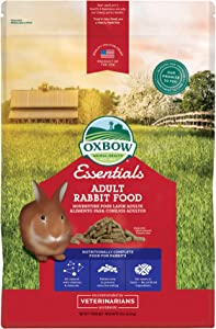Oxbow Essentials Rabbit Food - All Natural Rabbit Pellets