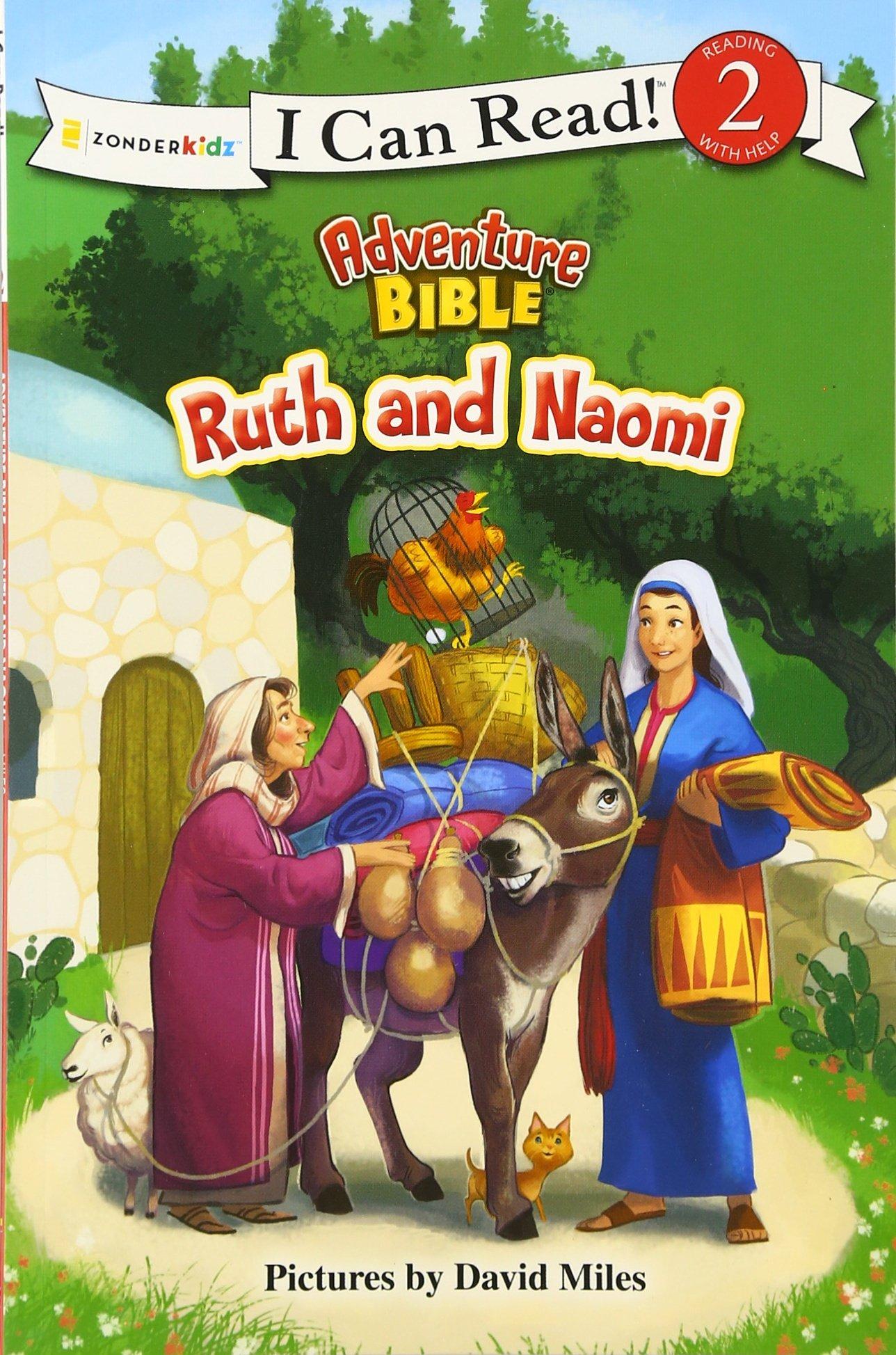 amazon com ruth and naomi i can read adventure bible