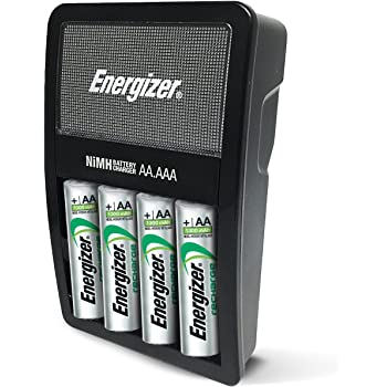 energizer rechargeable aa and aaa battery charger recharge value with 4 aa nimh. Black Bedroom Furniture Sets. Home Design Ideas