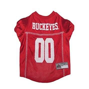 buy popular 217b0 7a760 Pets First NCAA PET Apparels - Basketball Jerseys, Football Jerseys for  Dogs & Cats Available in 50+ Collegiate Teams & 7 Sizes