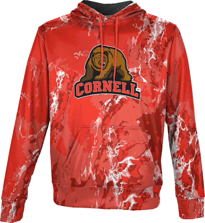 ProSphere Cornell University Mens Pullover Hoodie School Spirit Sweatshirt Marble