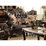 Meridian Furniture Barcelona Leather Loveseat
