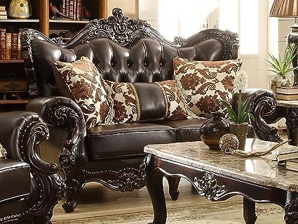 Meridian Furniture Barcelona Leather Loveseat