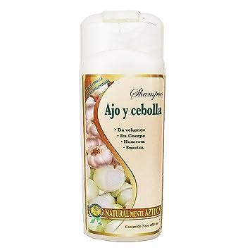 Shampoo ajo y cebolla Elimina caspa, seborrea, comezón, dale vida al cabello maltratado y...