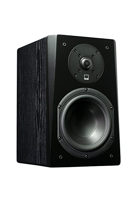 SVS Prime Bookshelf Speaker Pair Premium Black Ash