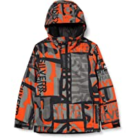 Quiksilver Boys' Mission Printed-Snow Jacket 8-16