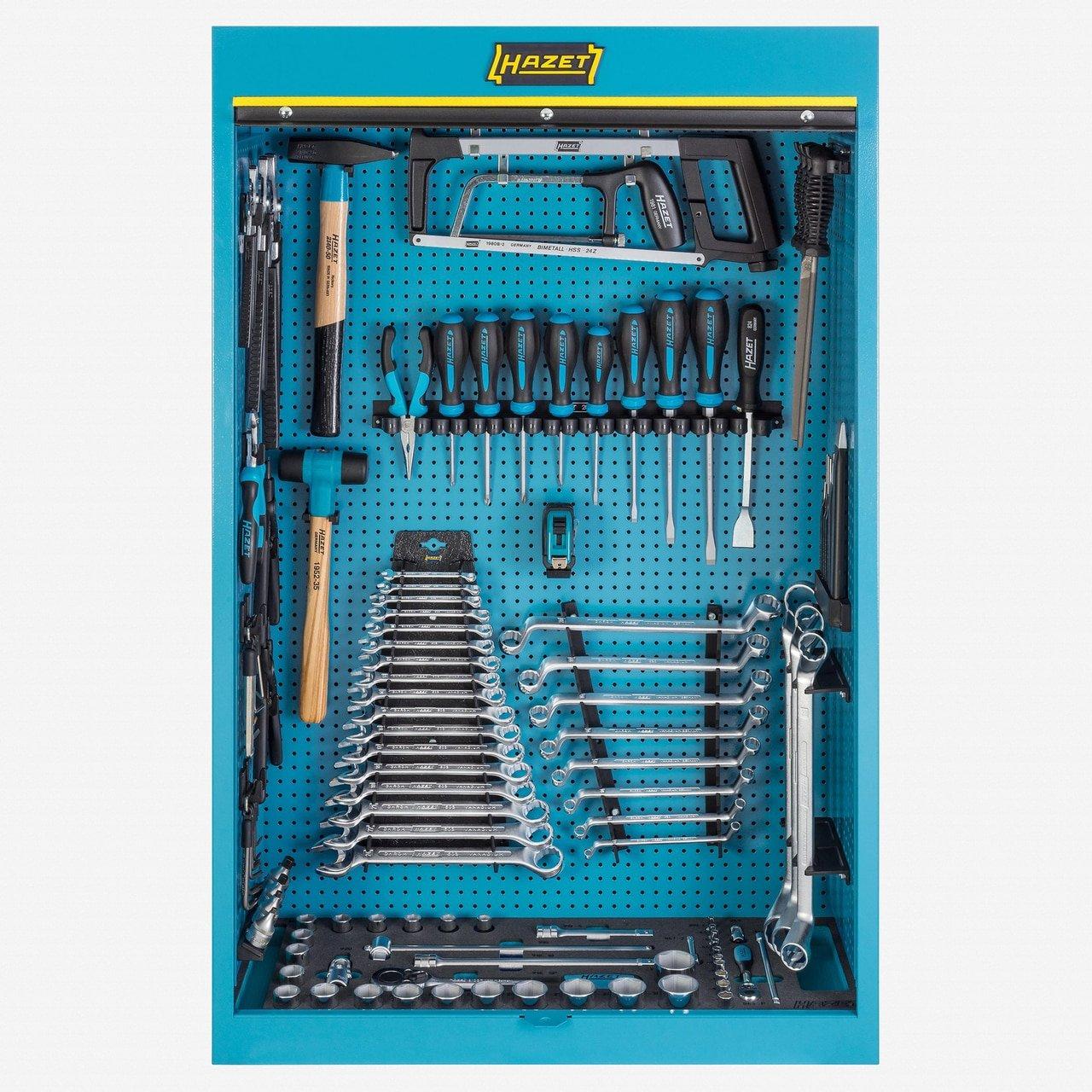Hazet Werkzeugschrank 111/116 Werkzeug-Set, blau: Amazon.de: Baumarkt
