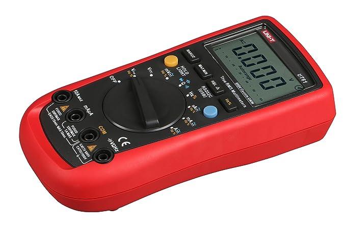UNI-T UT61E Multímetro digital PC Connect AC DC Voltage Meter Data Hold: Amazon.es: Bricolaje y herramientas