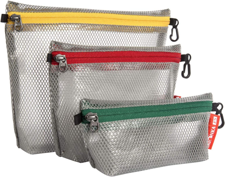 Grey Tatonka Zip Pouch Pochette Set 25/x 20/x 5/cm