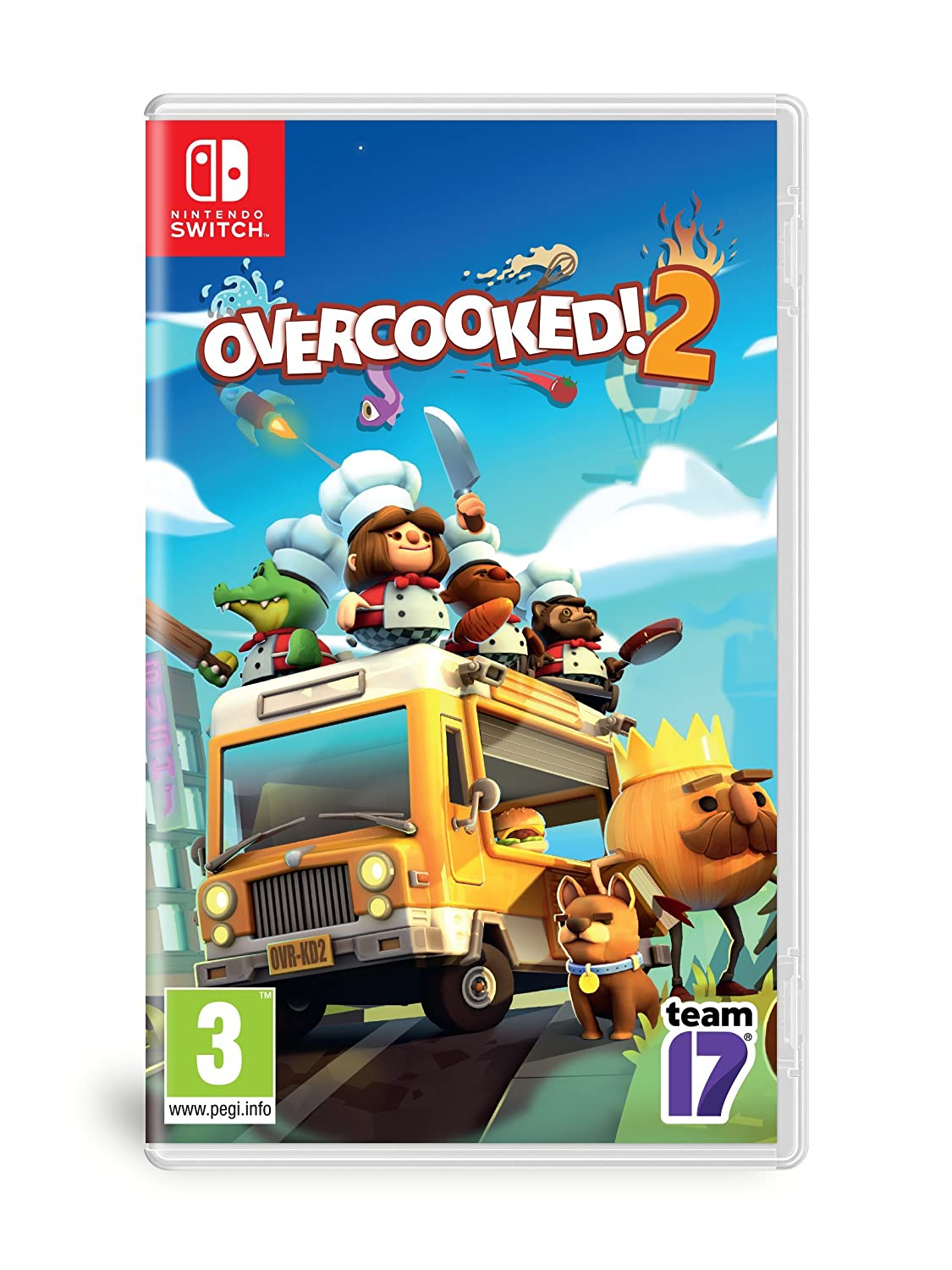 Overcooked! 2 - Switch | Ghost Town Games. Programmeur