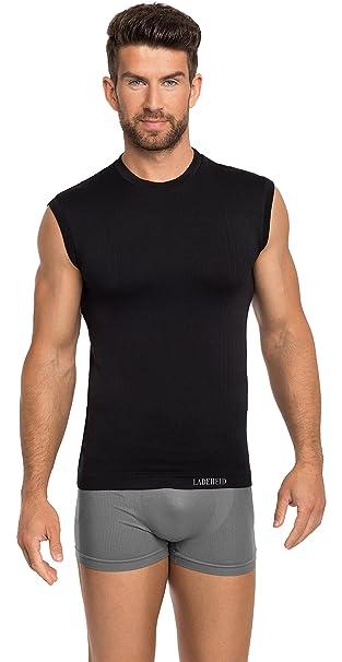 Mangas Ladeheid Térmica Ropa Camiseta Compresión Interior De Sin BeWxCdor