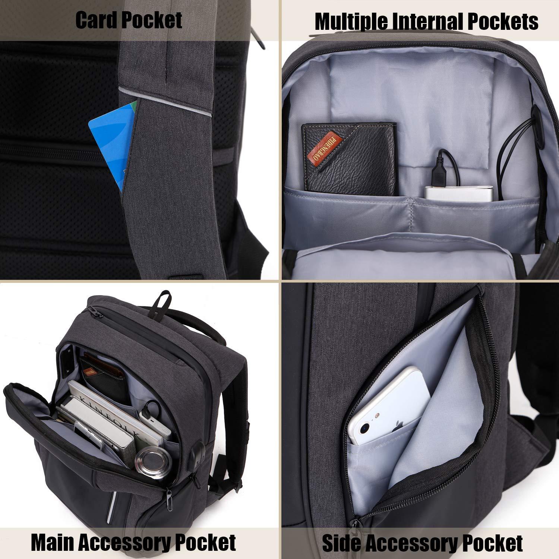 xnuoyo anti diebstahl laptop rucksack 17 3 zoll handtasche. Black Bedroom Furniture Sets. Home Design Ideas