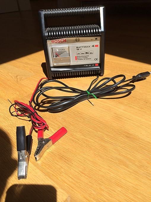 Bosch Battmax 4 - Cargador de baterías: Amazon.es: Electrónica