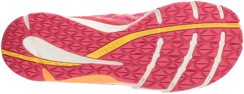 Merrell Women's Bare Access Flex E-Mesh Sneaker B0721NY8VD 9 B(M) US|Coral