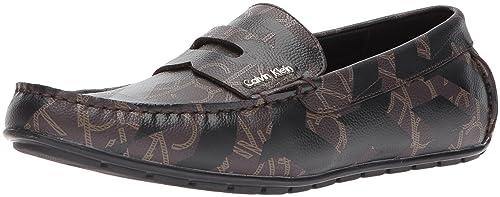 Amazon.com | Calvin Klein Mens Ivan Iconogram Slip-On Loafer | Loafers & Slip-Ons