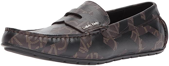 Amazon.com | Calvin Klein Mens Ivan Iconogram Slip-On Loafer | Loafers & Slip-Ons