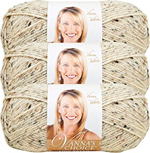 Lion Brand 860-400 Vanna's Choice Yarn - Oatmeal