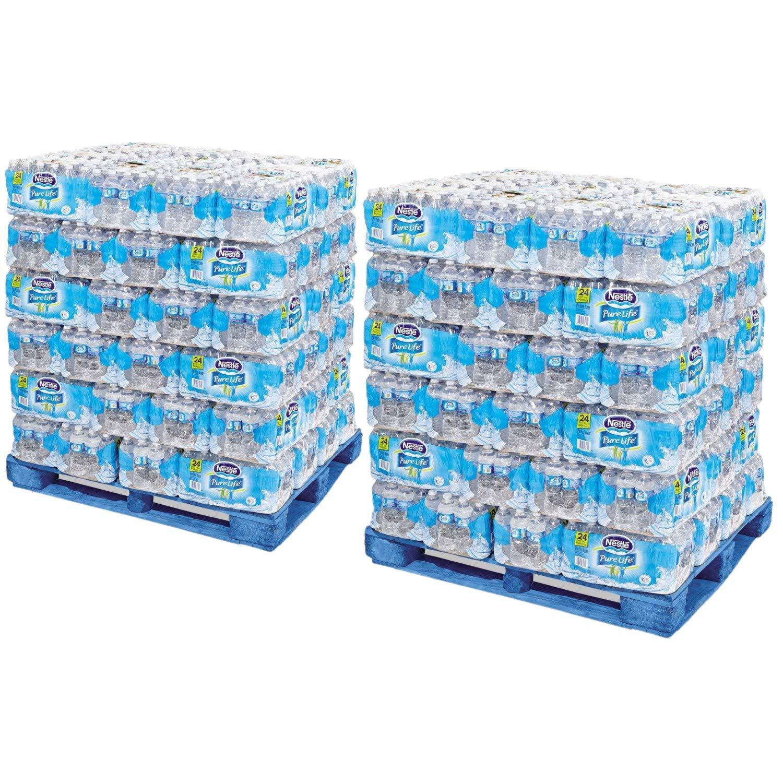Agua embotellada purificada, 16.9fl oz, palet de 78 ...