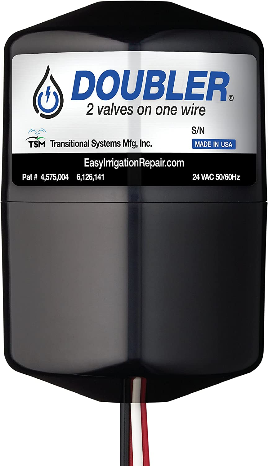 DOUBLER – 2 Valves on One Wire Expand or Repair Your Irrigation System with Ease