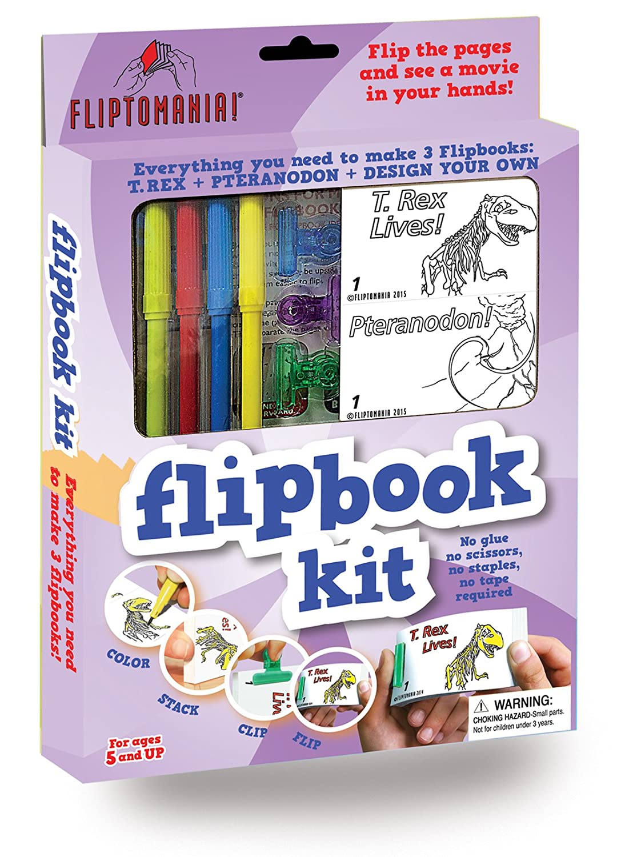 Flipbook Kit - Dinosaurs by FLIPTOMANIA