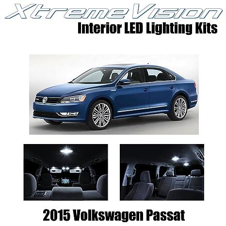 xtremevision Volkswagen Pasat 2015 + (9 piezas) paquete de interior LED Kit Premium +