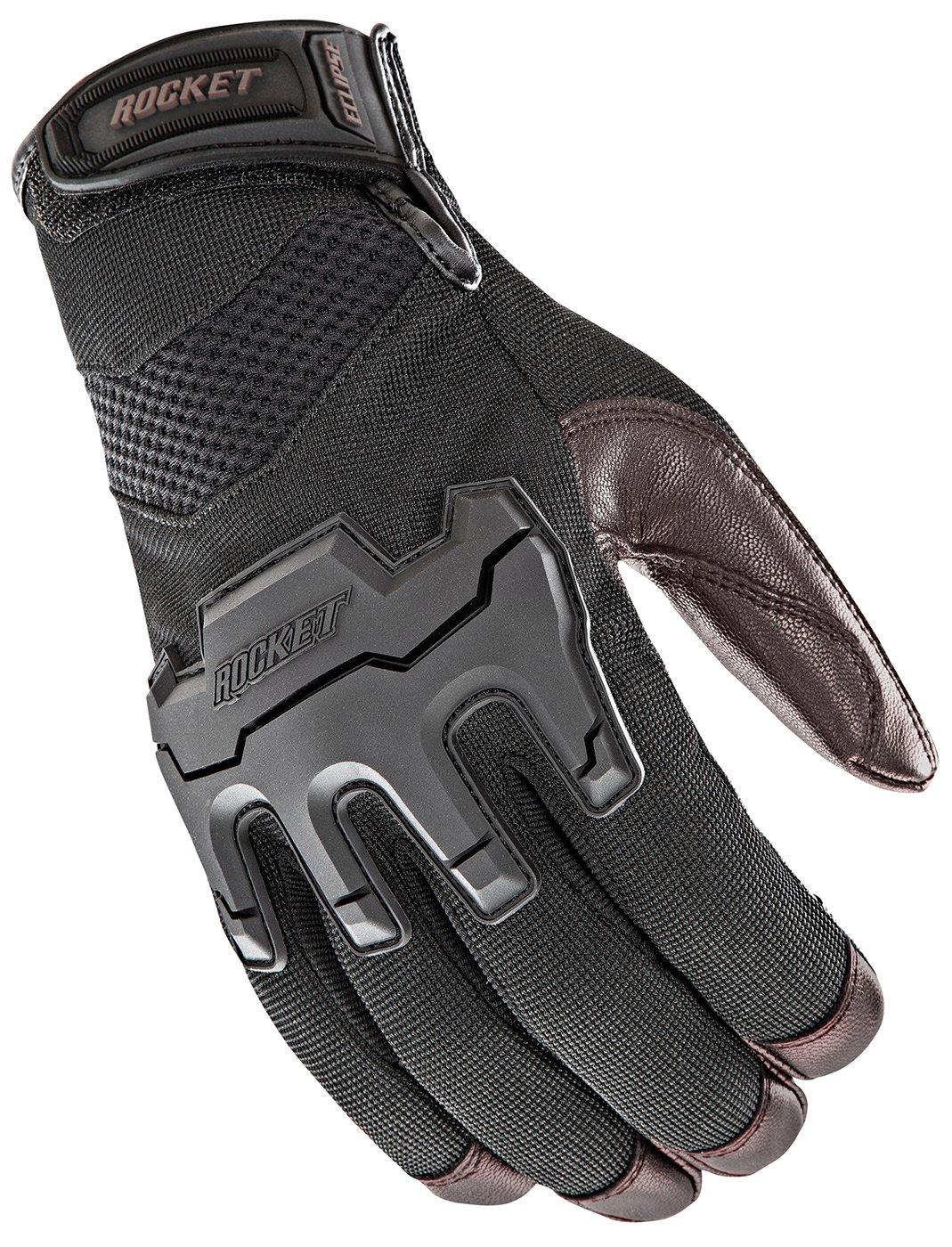 Black//Brown, XX-Large Joe Rocket Mens Eclipse Gloves