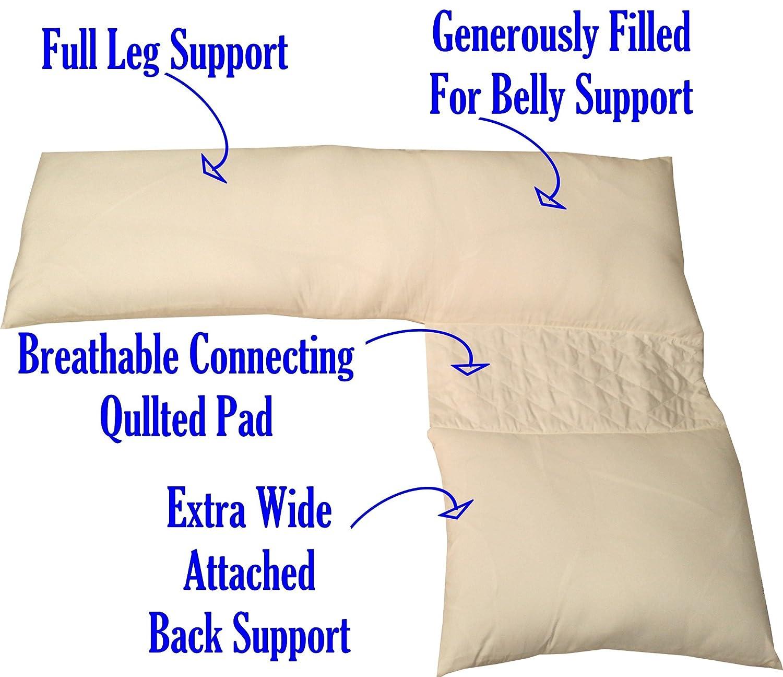 Amazon.com: Schmoozi almohada para embarazada, soporte ...