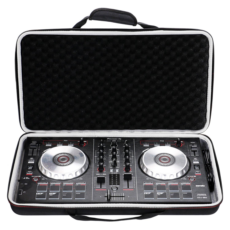 LTGEM Case for Pioneer DJ DDJ-SB3 / DDJ-SB2 Portable 2-channel Controller or DDJ-SB Performance DJ Controller-Black