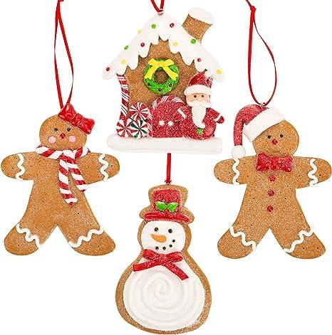 Gingerbread girls ornament
