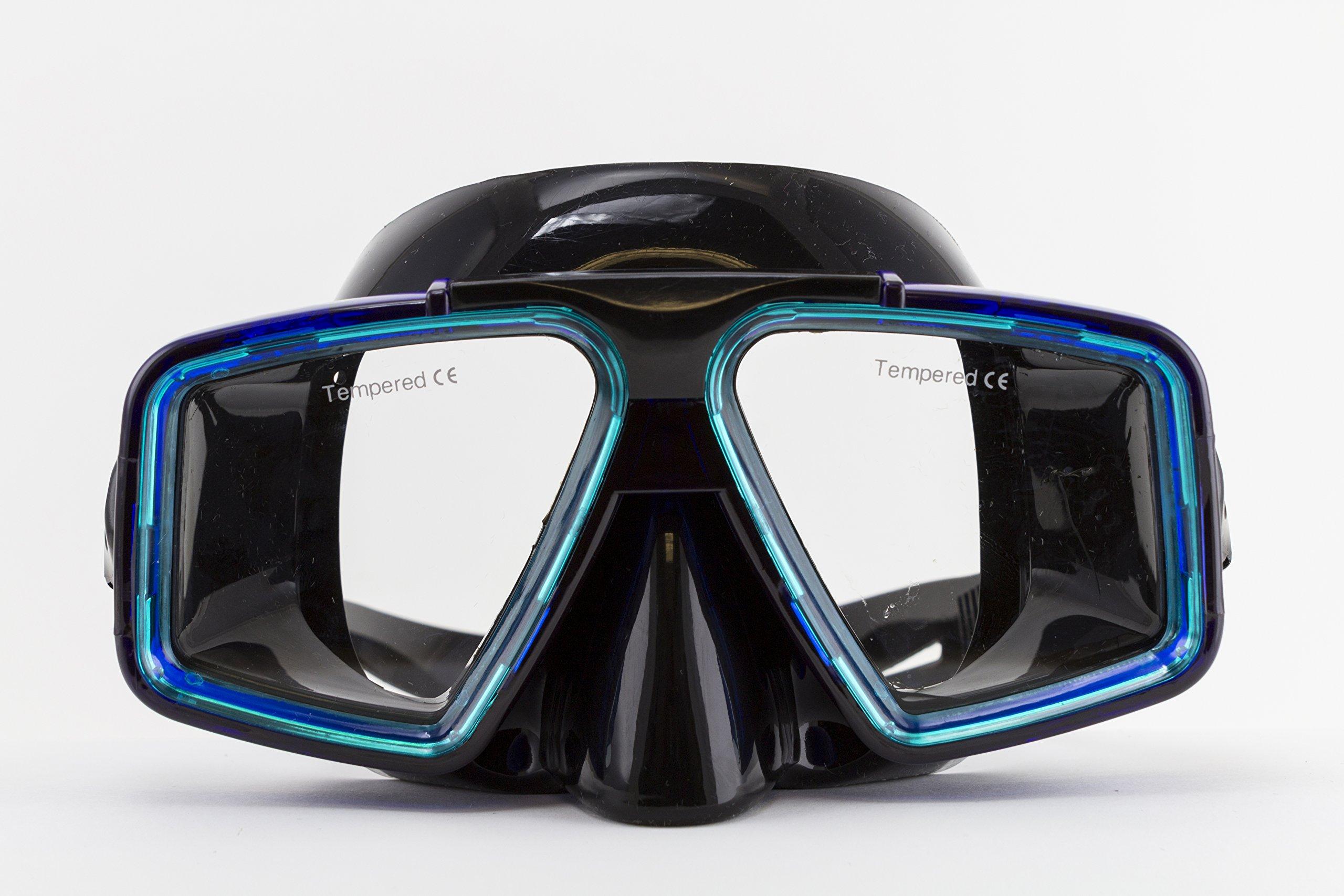 Cabo Silicone Mask Trans Blue / Trans Emerald