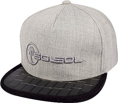 SOLSOL Solar Snapback Hat