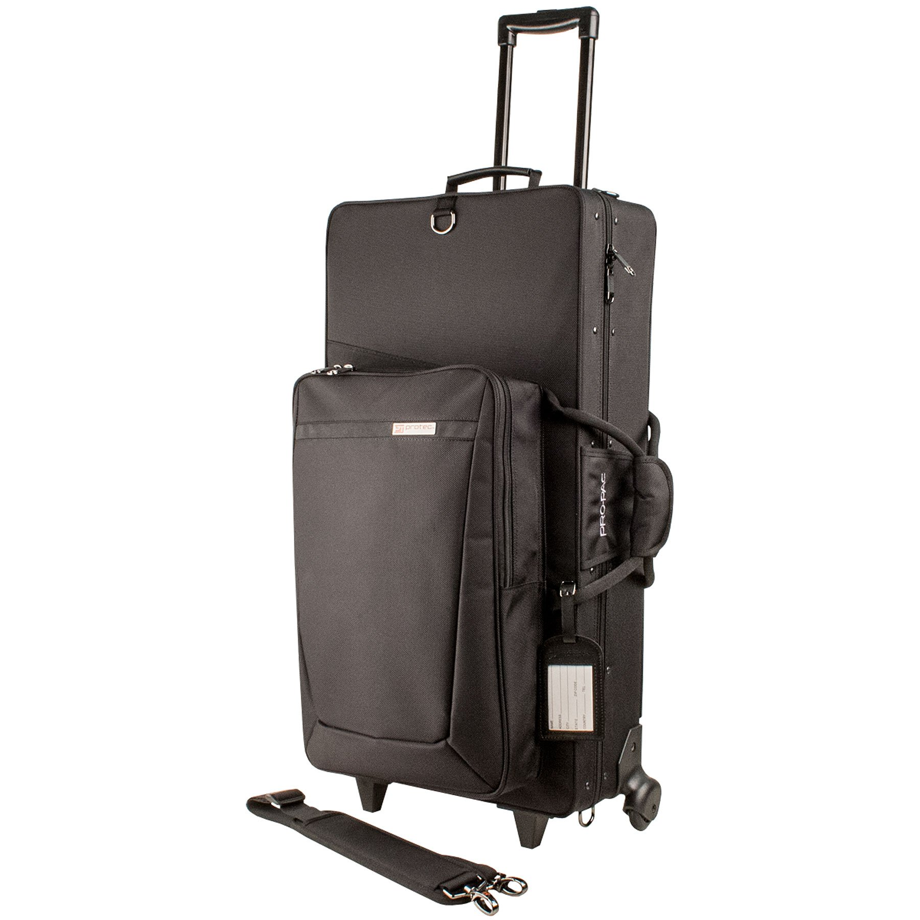 Protec PB304SOPWL Combination PRO PAC Case with Wheels for Alto / Soprano Saxophones