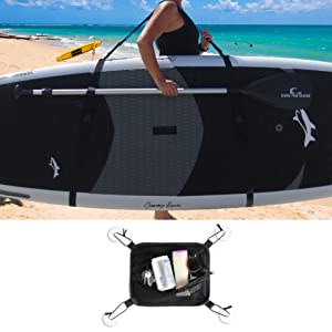 Deluxe SUP Paddleboard Carry Strap by Own the Wave