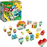 LEGO DUPLO Classic Creative Birthday Party 10958 Imaginative Building Fun for Toddlers; Creative Toy Gift for Kids, New 2021