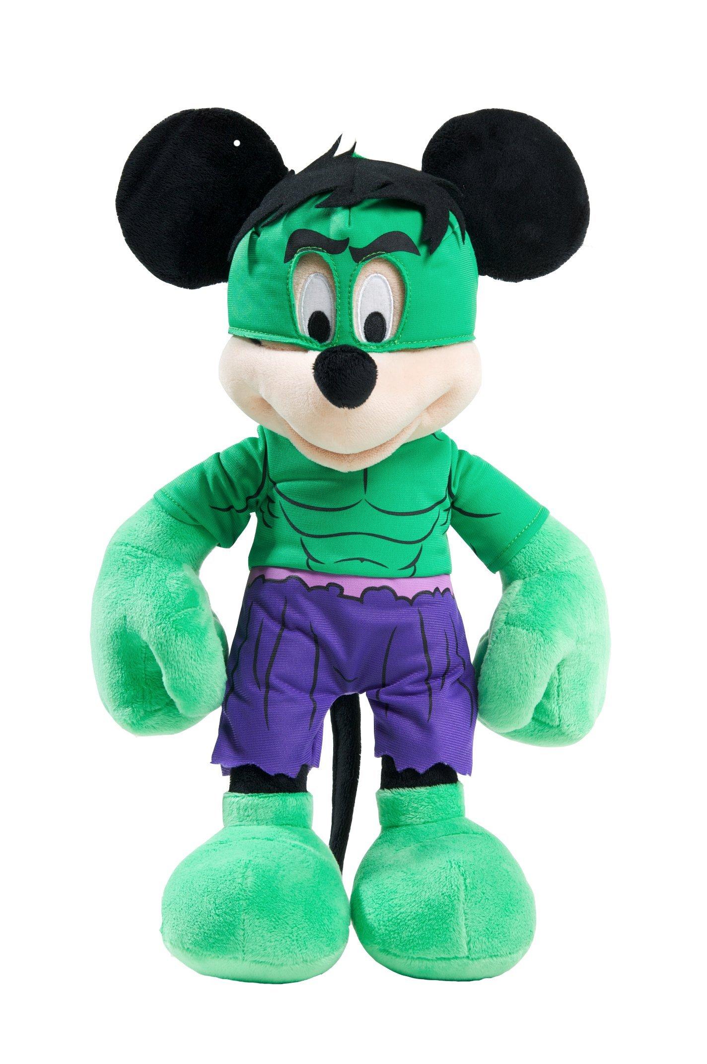 Marvel Disney Themed Mickey as Hulk Plush by Just Play