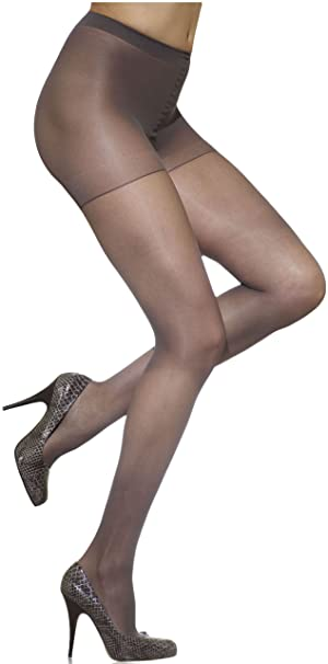 caa1ca63a07 Silkies Women s Ultra Soft Dimensions Control Top at Amazon Women s  Clothing store  Pantyhose