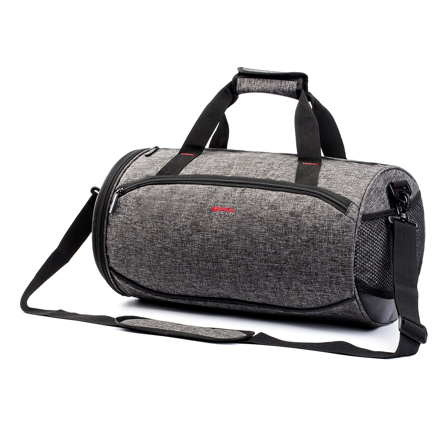 Outdoor Athletic Fitness Travel Gym Duffel Tote Bag with Shoe Compartment Suppets