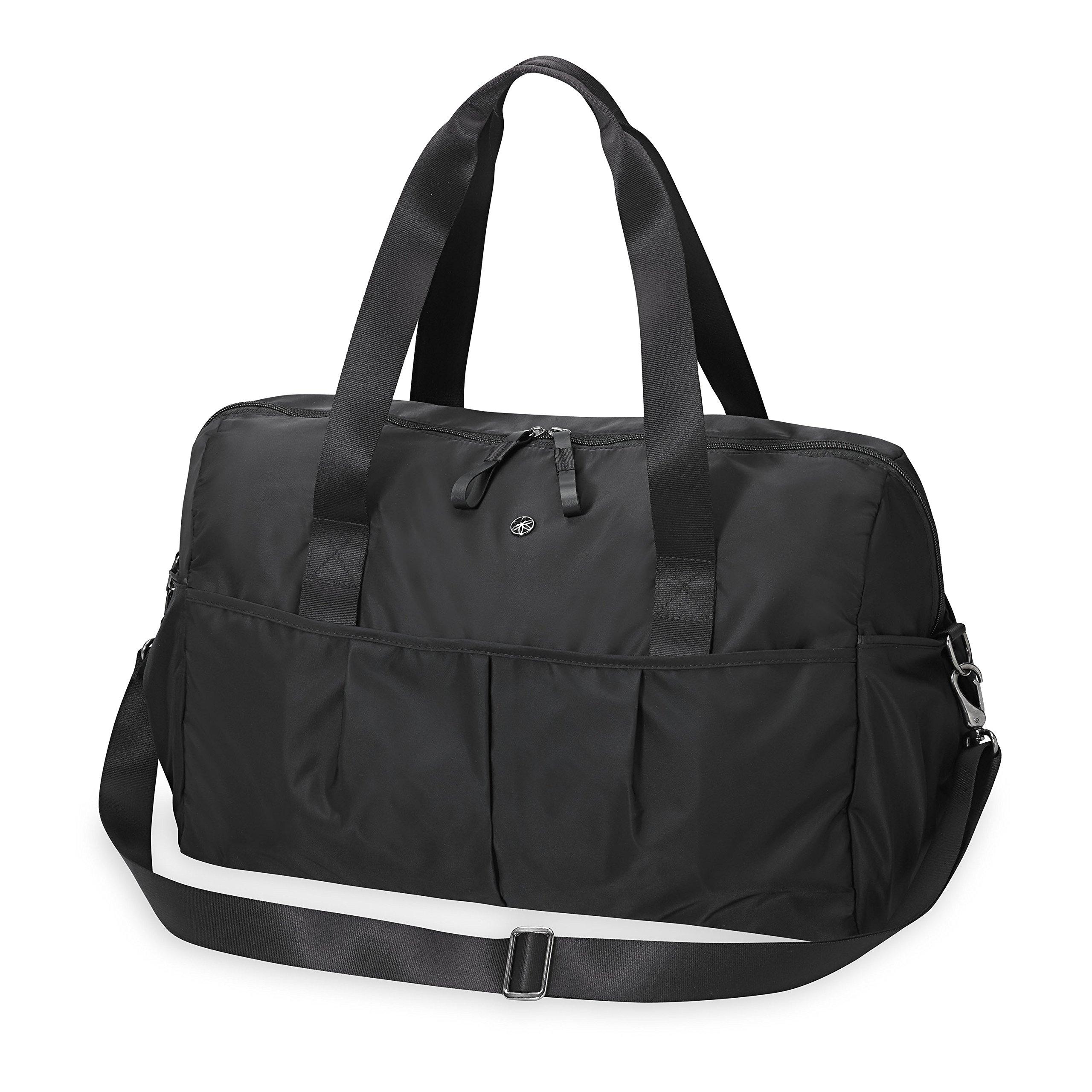 Gaiam Studio to Street Yoga Mat Bag, Black