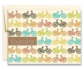Amazon.com: 20 Tarjetas de felicitación de agradecimiento ...