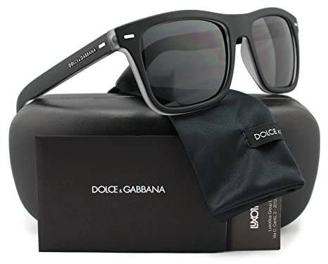Amazon.com: Dolce & Gabbana dg6095 Hombres anteojos de sol ...