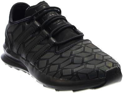 reputable site 25d7f c47a6 adidas Men s SL Rise Fashion Sneaker Black Black White 10.5 D(M)