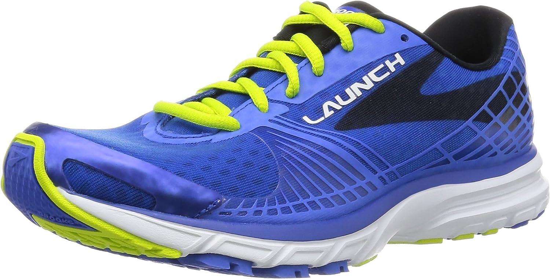 Electric Brooks Blau Lime Punch schwarz 41 EU Brooks Herren Launch 3 Sportschuh