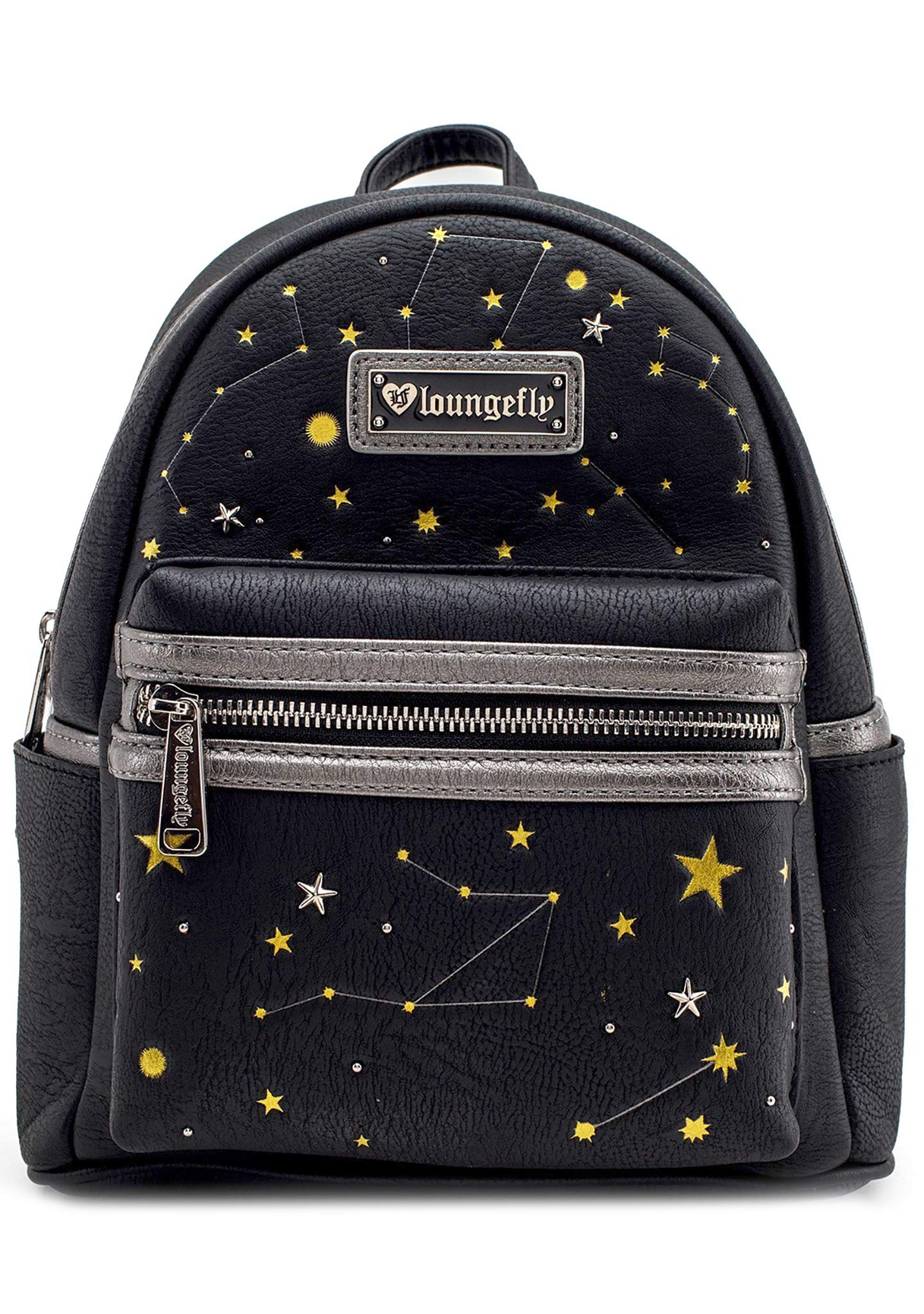 cef56425499e Loungefly CELESTIAL Faux Leather MINI BACKPACK in Black - Travel