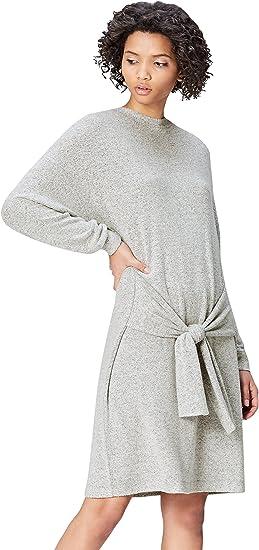 TALLA 36. Marca Amazon - find. Vestido con Lazada para Mujer