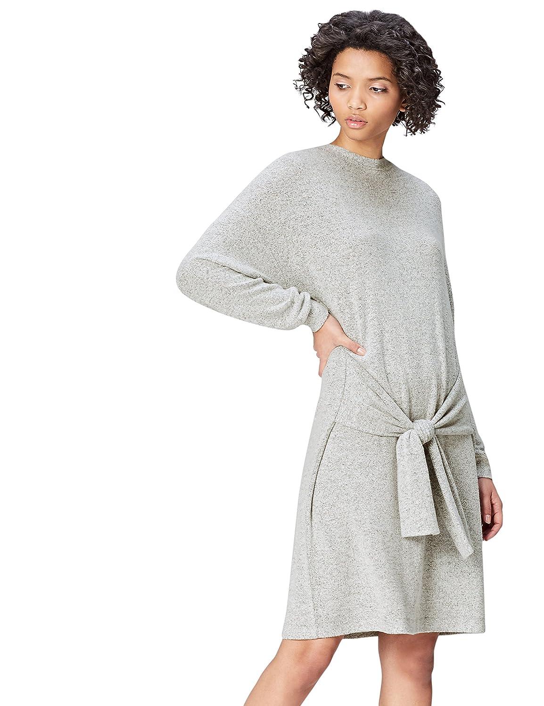 Marca Amazon - find. Vestido con Lazada para Mujer