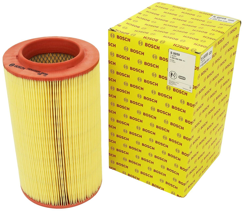 Bosch F026400059 Air-Filter Insert Robert Bosch GmbH Automotive Aftermarket